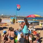 Jeux et concours sur la plage de Saint Denis d'Oléron