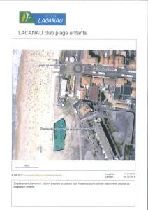 LACANAU_annonce emplacement club plage enfants_PLAN